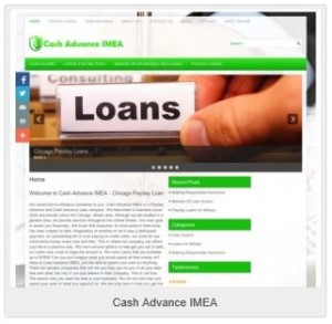 Cash Advance IMEA
