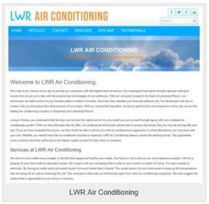 LWR Air Conditioning